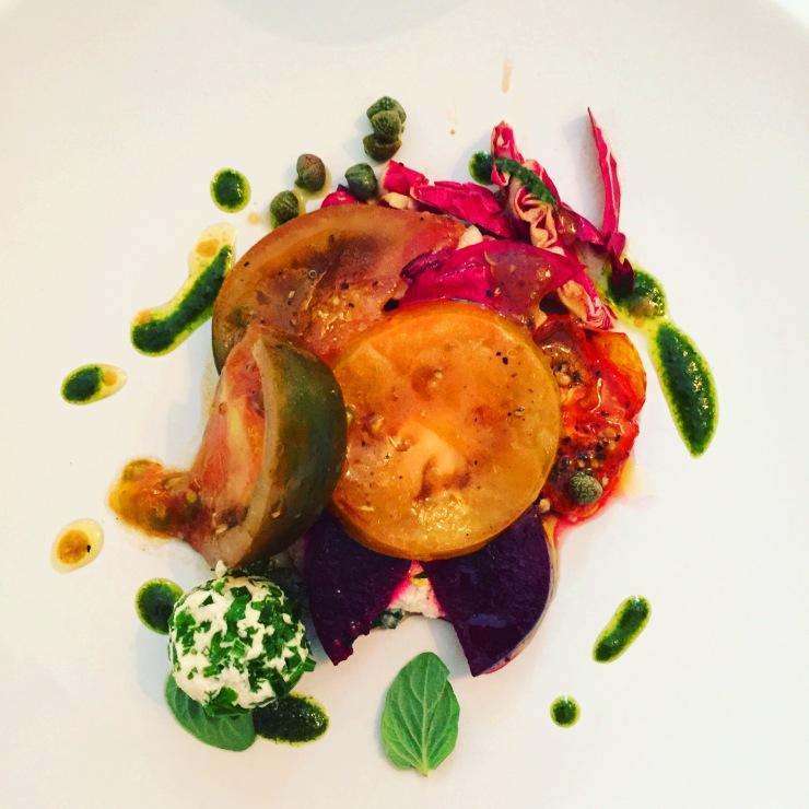 vegan tomato dish